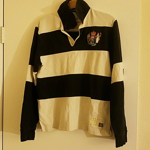 74f6751f9d9 Canterbury of New Zealand Other - Canterbury of NZ Color Block Rugby Polo  Size Small